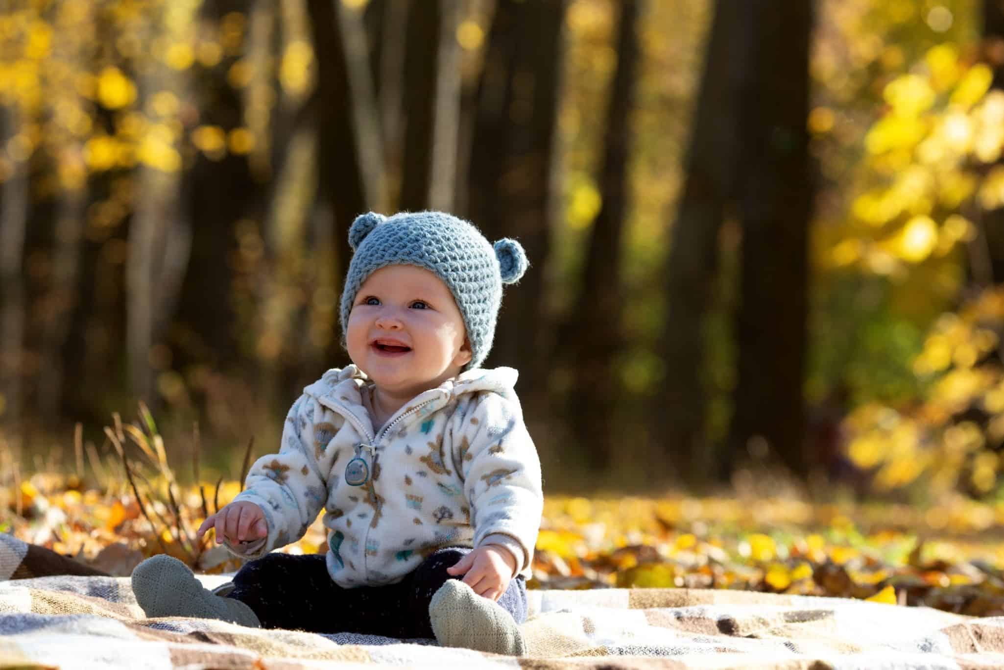 baby-is-learning-to-sit-little-girl-is-wearing-funny-hat-with-ears_t20_lxB1Gm 2
